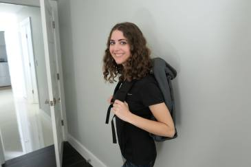 me with Tom Bihn Aeronaut backpack